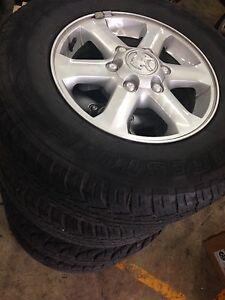 "16"" genuine Holden Colorado wheels Bridgestone Tyres Rockdale Rockdale Area Preview"