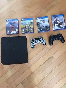 Almost new PS4 for sale!
