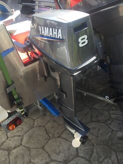 2011 yamaha 8hp long shaft  Capalaba West Brisbane South East Preview