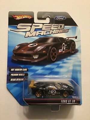 Hot Wheels Speed Machines Ford GT LM 1:64 Black