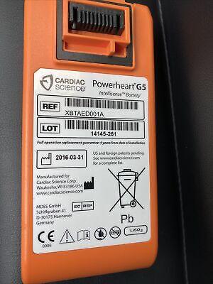 Cardiac Science Powerheart Aed G5 Battery