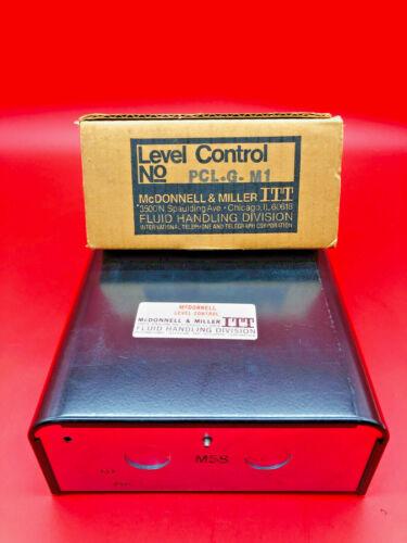 McDonnell & Miller ITT PCL-G-M1 Liquid Level Control PCLGM1 Vertical Probe New
