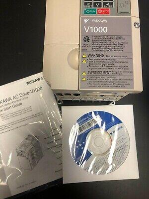 Brand New In Box Yaskawa V1000 Inverter Drive Cimr-vu2a0010baa