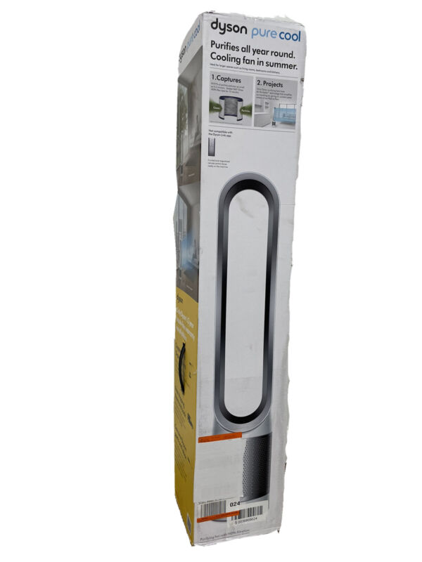 Dyson Pure Cool Air Purifier + Fan AM11 Silver Brand NEW - Sealed Box