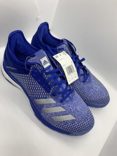 NEW Adidas Crazyflight X 2 Women's Size 9.5 Blue Volleyball