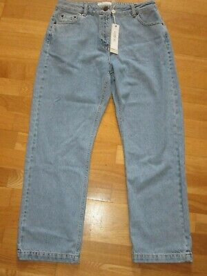 isa arfen label mix capri crop jeans size 12 leg 26 brand new with tags