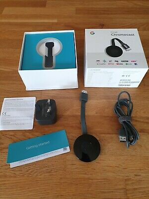 Google Chromecast (1st Generation) Media Streamer - Black