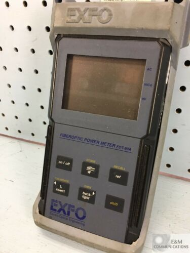 FOT-90A EXFO FIBER OPTIC POWER METER