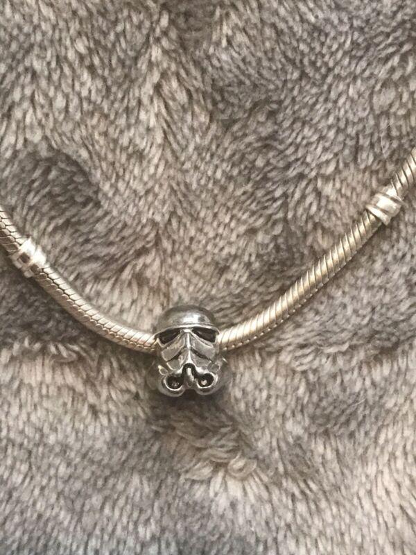 Star Wars Stormtrooper Charm Bead (Fits all major brands of bracelet)