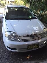 2005 Toyota Corolla Sedan Medowie Port Stephens Area Preview