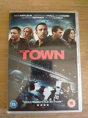 The Town DVD, 2011 Robbery Heist Film Movie Ben Affleck Jon Hamm Blake Lively