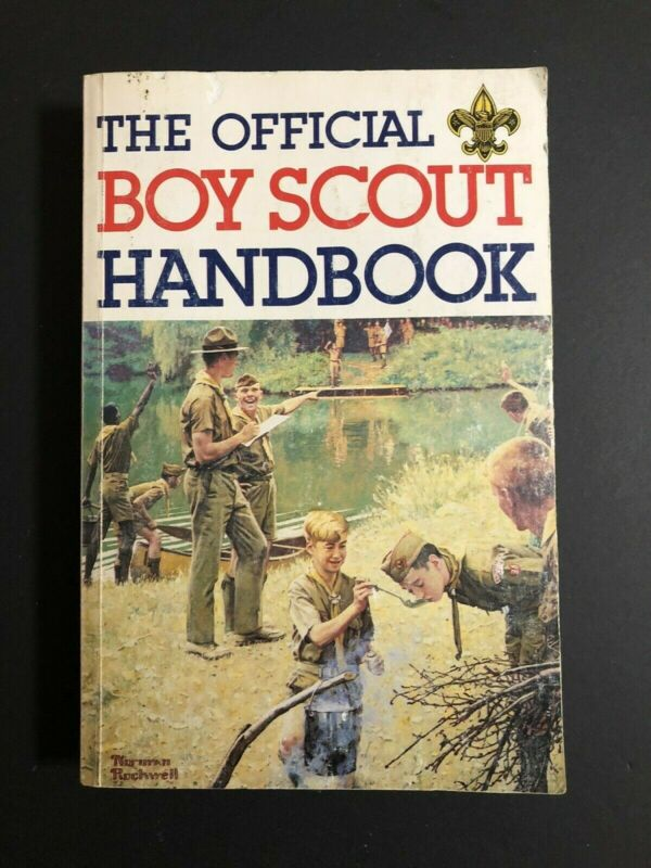 The Official Boy Scout Handbook 1979 Copyright Norman Rockwell Cover