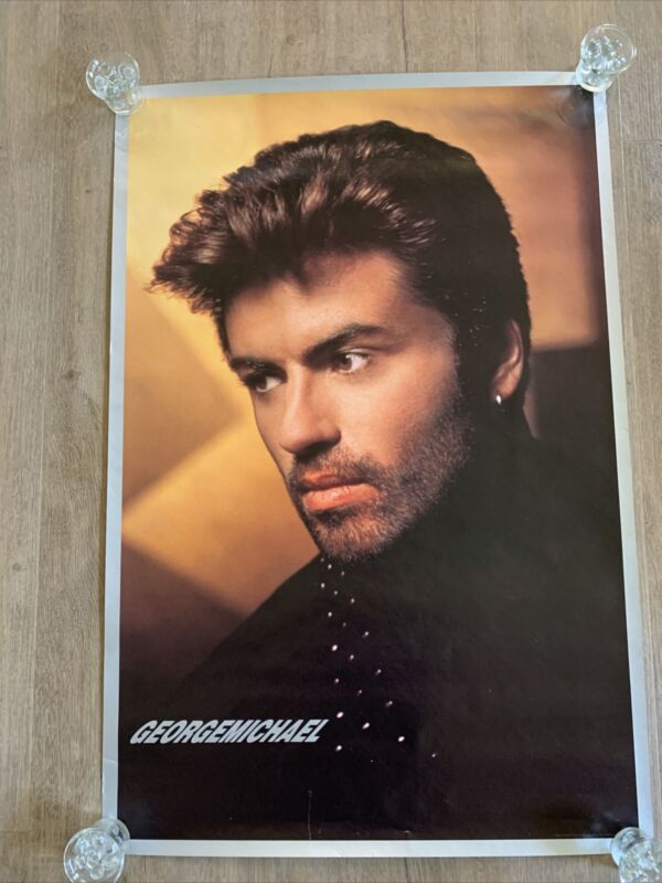 George Michael 1990 Listen Without Prejudice Original Poster
