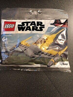 FACTORY SEALED Lego 30383 Star Wars Naboo Starfighter 48 Pc Disney