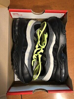 Nike Air Max Boys Kids Youth 270 PS Neon Green Black & Gray Shoes 1Y