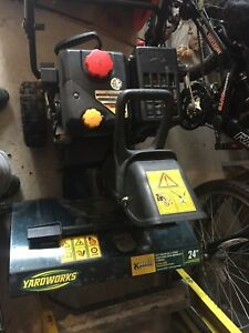 "24"" Snowblower Perfect Condition"