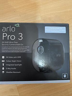 Arlo Pro 3 2k Qhd Wire Free Security Camera