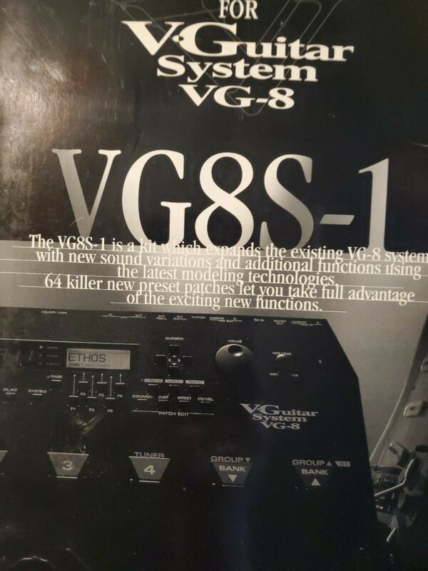 Roland Vg-8 VG8S-1 Expansion. 50 plus shipping see details. In description