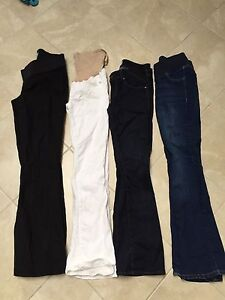 Brand name maternity jeans and dress pants sm/xs sizes