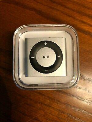 Apple iPod Shuffle A1373 Silver 2GB 4th Generation Brand NEW