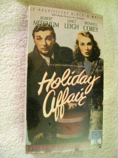 HOLIDAY AFFAIR (1993) VHS (BRAND NEW) ROBERT MITCHUM-JANET LEIGH