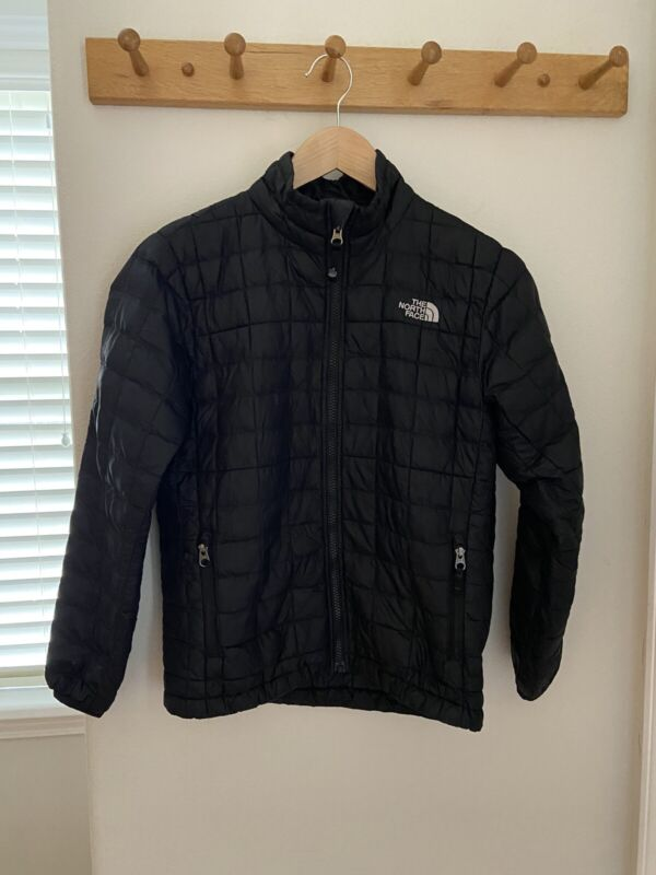 The North Face Black Down Puffer Jacket Boys M 10 12 Girls