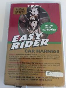 Top Paw easy rider car harness