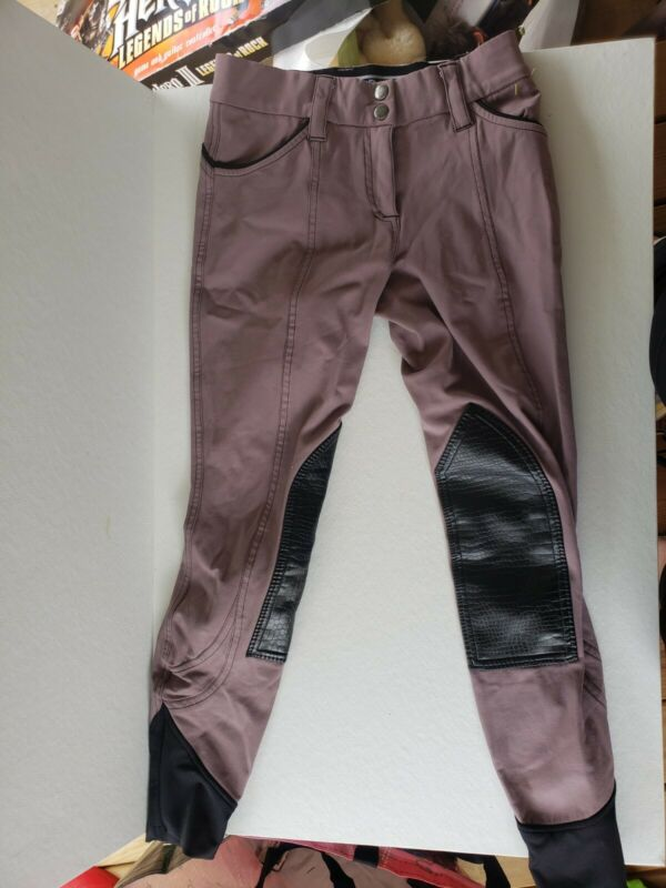 GhoDho Fiona Knee Patch Breeches size 26 (B7)
