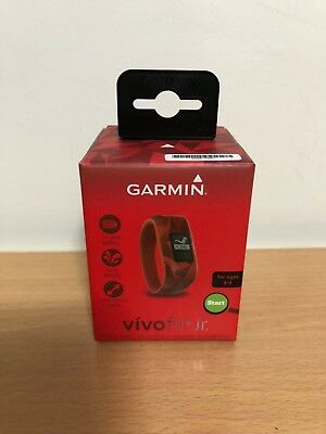 Garmin Vivofit JR Activity Tracker Smart Watch For Kids - Red Lava New Boxed