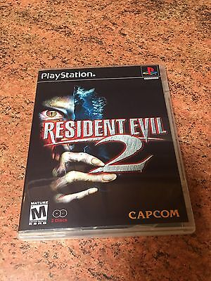 Resident Evil 2: (2 Disc) Empty Replacement Case PS1 PS2 PS3, Resident Evil, Ps4