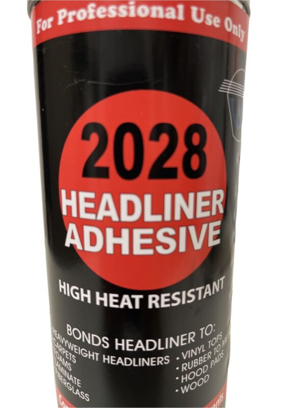 2028 Hi Heat Resistant Headliner Adhesive Spray 13oz