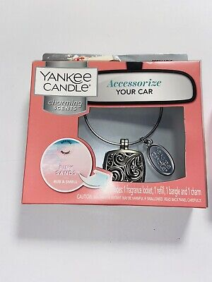 Yankee Candle Pink Sands Charming Scents Car Starter Kit Gift