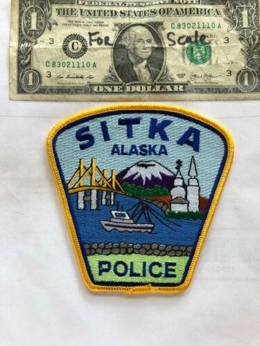 Sitka Alaska Police Patch Un-sewn great shape