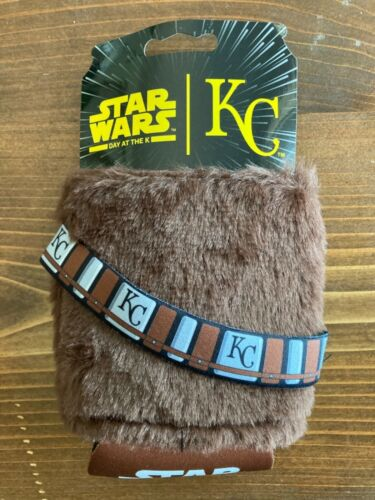 Star Wars Day at the K, Chewbacca Koozie, KC Royals, 2019, New, $14.99, Free S&H