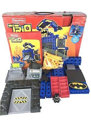 Fisher Price Trio Batcave T3832 DC Super Friends Replacement Parts Instructions