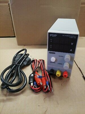 Variable Dc Power Supply Ipsxp Kps1203d Adjustable Switching Regulated 0-30v 10a