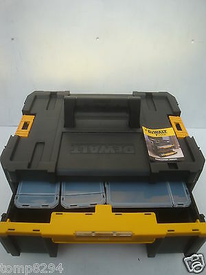DEWALT TSTAK III  DEEP DRAWER STORAGE CASE WITH CONTAINERS DWST1 70705