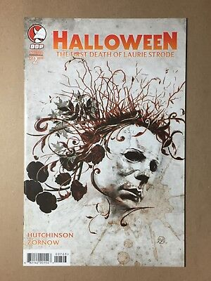 HALLOWEEN THE FIRST DEATH OF LAURIE STRODE #2 COVER C VF- MICHAEL MYERS COMIC - Halloween 2 Michael Myers Death
