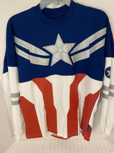 Captain America Spirit Jersey for Adults – The Falcon and the Winter Soldier XS