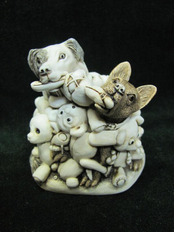 Harmony Kingdom - Petty Teddies/Perished Teddies - TJTB