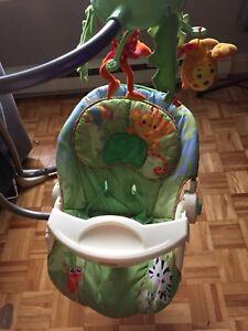 Balançoire pour bébé rainforest de FisherPrice