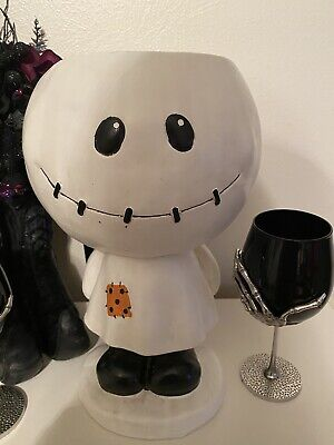 Halloween MARVIN THE MUMMY Girl Candy Dish RAE DUNN STYLE Indoor / Outdoor Decor