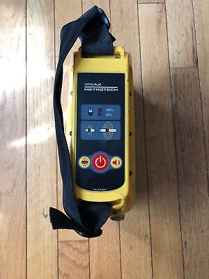 Vivax Metrotech Vm-810 Underground Pipe And Cable Locator Transmitter Unit