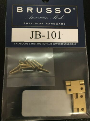 BRUSSO JB-101 STOP HINGE SET   NEW