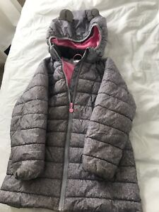 H&M puffer long coat