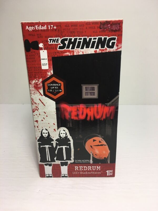 The Shining REDRUM LED Spotlight For Halloween NEW!!!! Indoor Or Outdoor!
