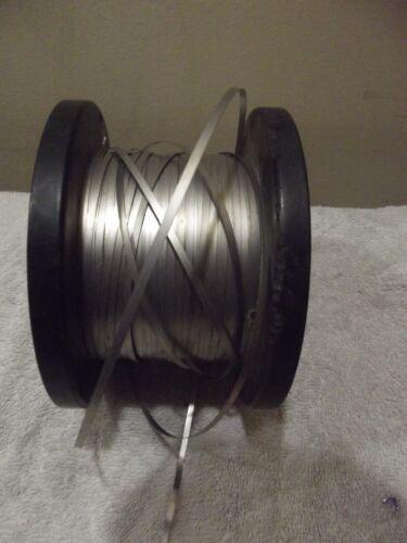 "NiCr 60 NiChrome Flat Heating Ribbon / Wire .4475 Ohms / Ft .125 X .01"" 50 ft"