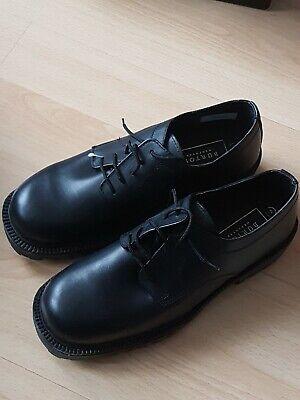 Burton Menswear Shoes ~ Black Size 9 Leather ~ School Shoes ~ Brand New