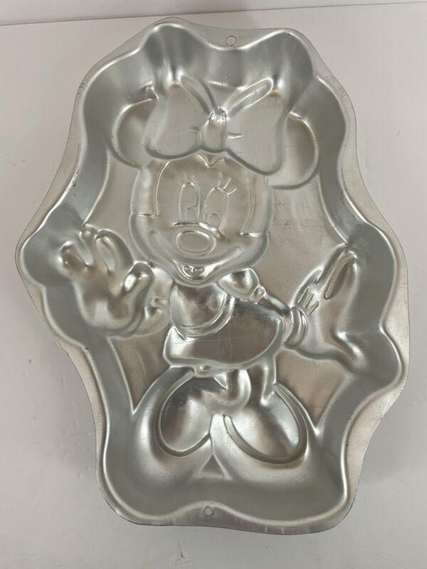 49) Wilton Minnie Mouse Cake Pan Retired Vintage Disney 1998 Full Body 2105-3602