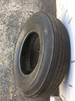 Spare tyre suit trailer or older vehicle